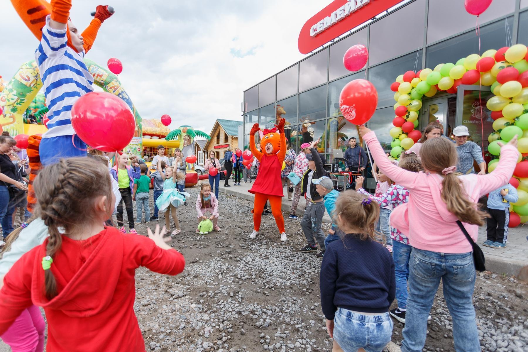Детский праздник в ПиццаФабрике