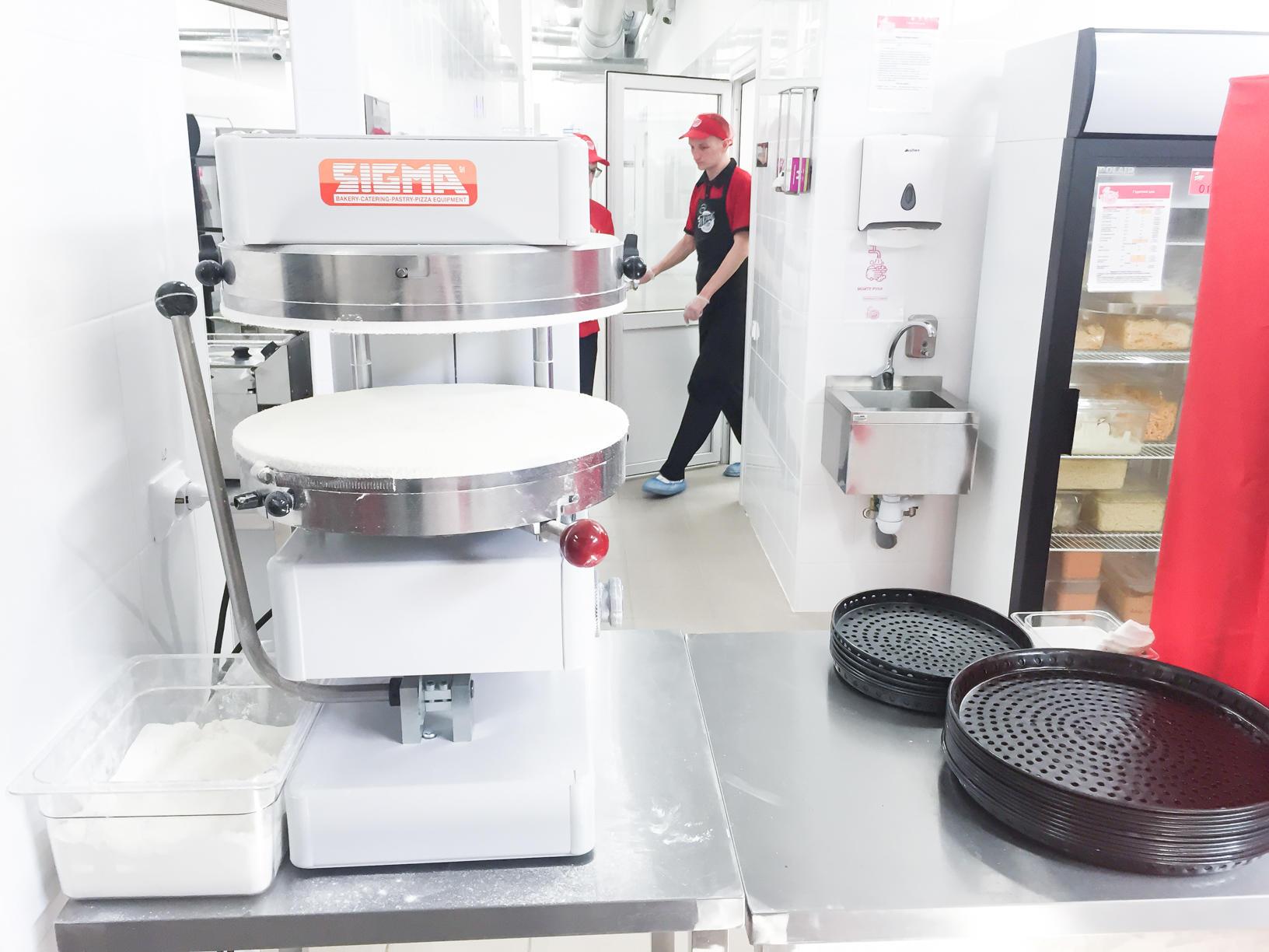 Кухня ПиццаФабрики Тольятти