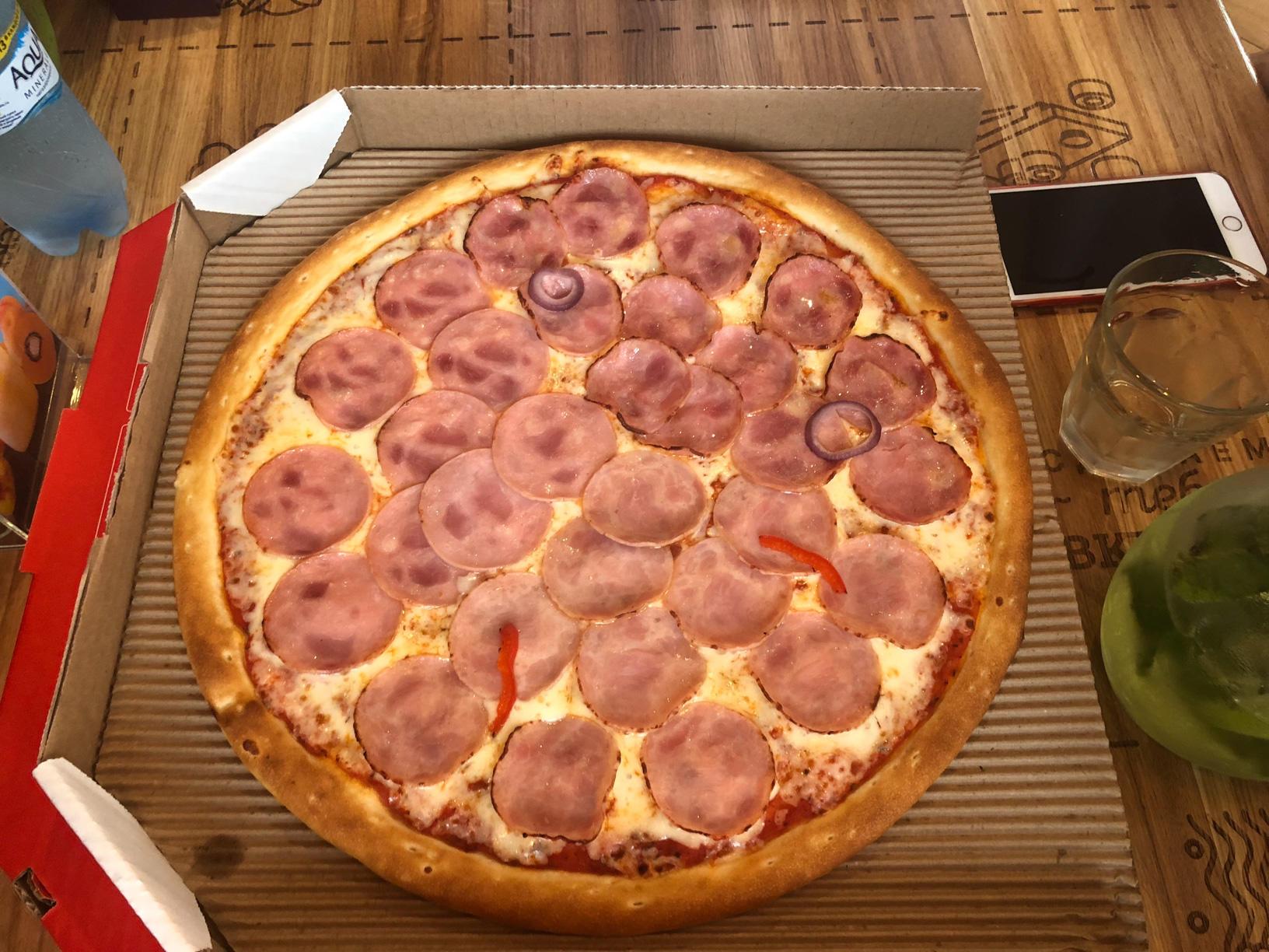 Пицца на дегустацию в ПиццаФабрике