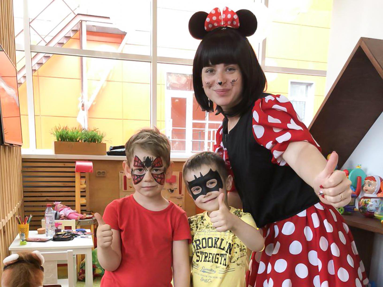 Детский праздник ПиццаФабрика