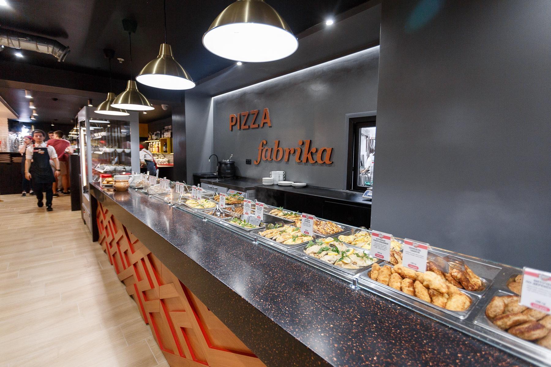Линия раздачи ресторана – 2019 год