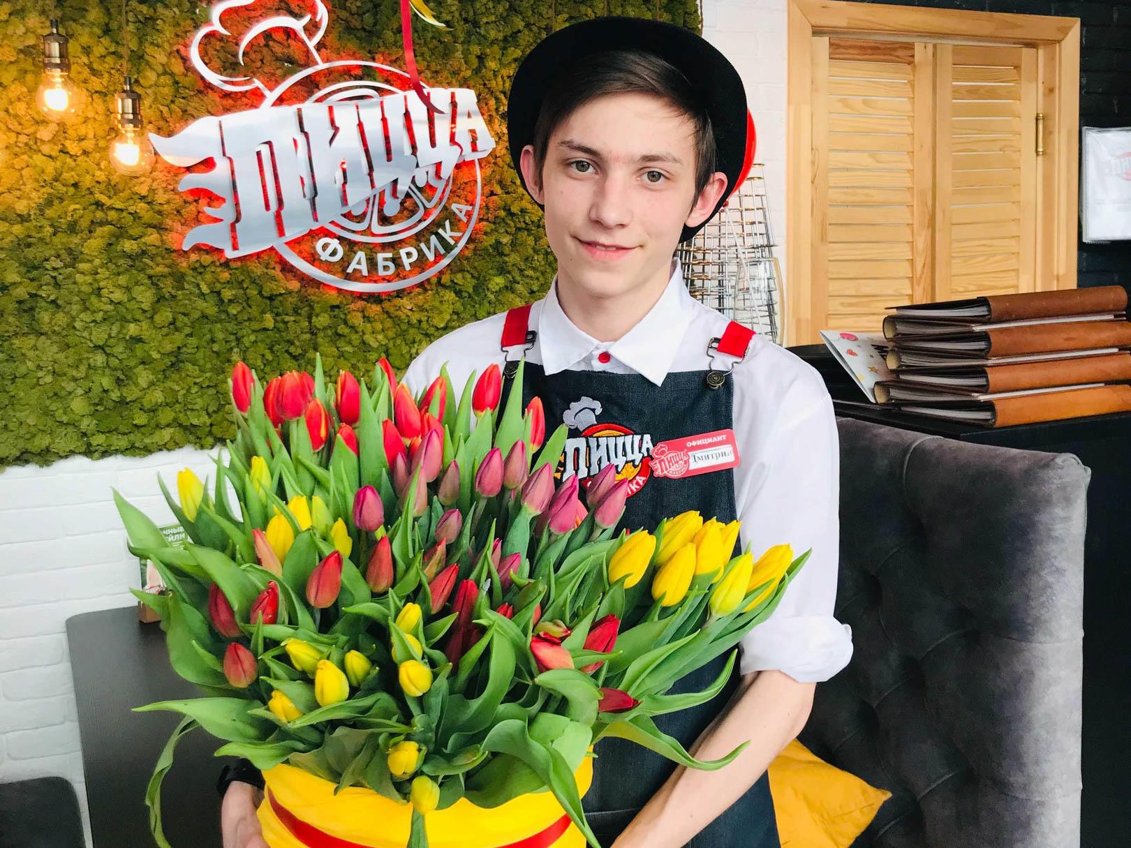 ПиццаФабрика поздравляет с 8 марта