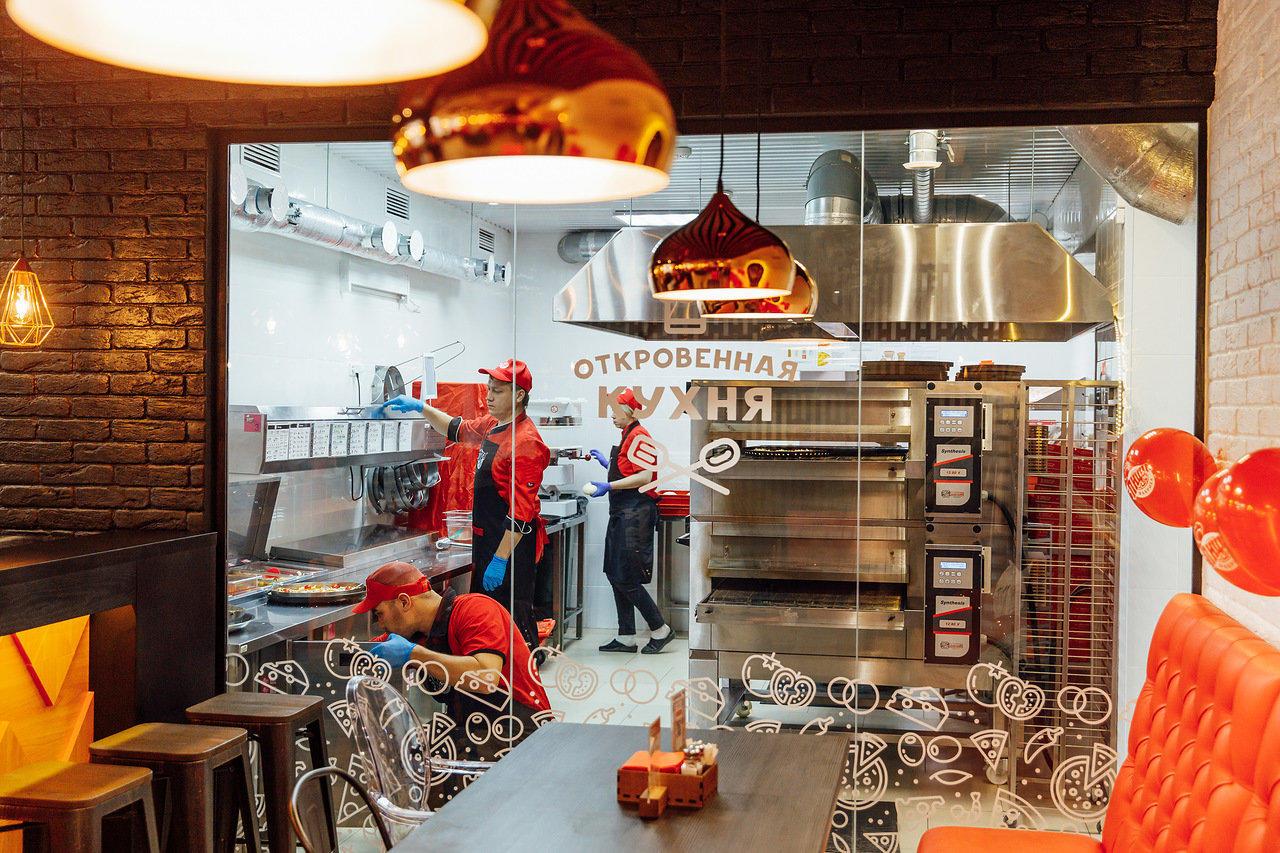 Откровенная кухня в ПиццаФабрике Ярославль
