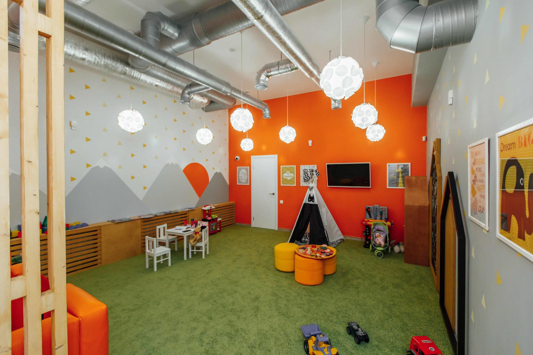 Детская комната в ПиццаФабрике Ярославль